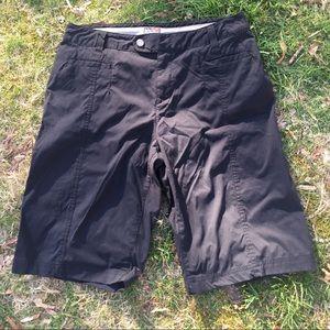 Royal Robbins black Discovery shorts